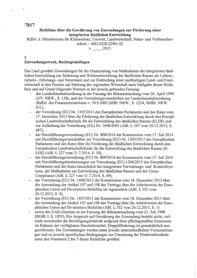Titel-ILE-Richtlinie