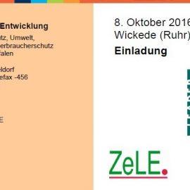 08.10.2016: LEADER-Forum NRW in Wickede: 28 neue LEADER-Regionen treffen sich zum Erfahrungsaustausch
