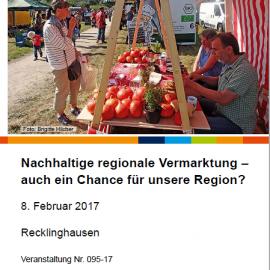 05.01.2017: Einladung der nua: natur- und umweltschut-akademie nrw am 08. Februar 2017 in Recklinghausen