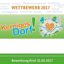 """25.03.2017: Wer wird """"Kerniges Dorf 2017""""?"""