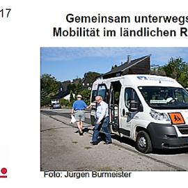 """03.05.2017: Zele lädt ein nach Coesfeld! Thema: """"Gemeinsam unterwegs – Mobilität im ländlichen Raum"""""""