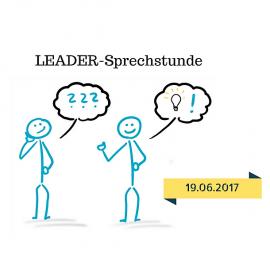 01.06.2017: LEADER-Sprechstunde am 19.06.17 in Borken!