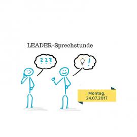 18.07.2017: LEADER-Sprechstunde am 24.07.2017 in Borken!