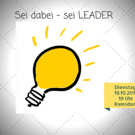 18.10.2017: LEADER-Informationsabend in Velen-Ramsdorf