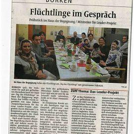 """04.10.2017: """"Tag des Flüchtlings"""" – auch in Borken wurde einiges geboten!"""