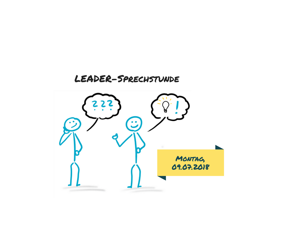 LEADER-Sprechstunde-Website