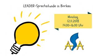 LEADER-Sprechstunde November