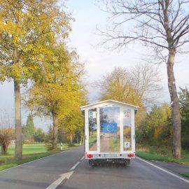 """Mobiles Museum """"Landvermessung früher und heute!"""""""