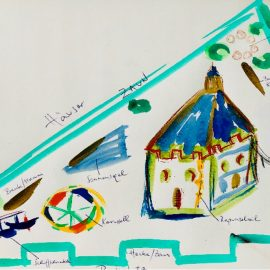 Märchenspielplatz Suderwick im Rahmen der Dorfentwicklung Dinxperwick
