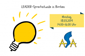 LEADER-Sprechstunde März 2019