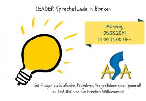 LEADER-SprechstundeAugust
