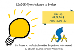 LEADER-Sprechstunde September