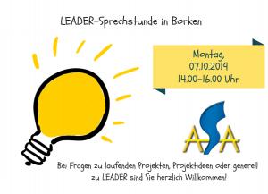 LEADER Sprechstunde Oktober
