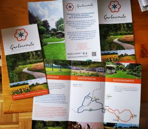 Flyer Gartenroute Münsterland